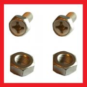 Battery Bolts and Nuts (pair)